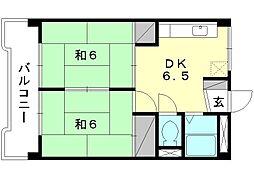 岡崎第7ビル[202 号室号室]の間取り