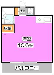 アンシャンテ志木[8階]の間取り