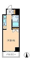ポルタキアーラ[5階]の間取り