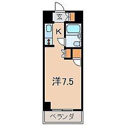 メゾン・ド・バーグ(アパマン)[1階]の間取り