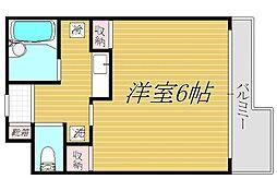 菱和パレス早稲田壱番館[3階]の間取り