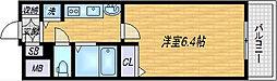 大阪府大阪市北区長柄西2丁目の賃貸マンションの間取り