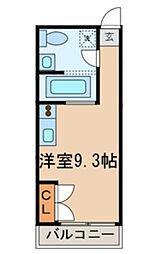 CASA OKUNISHI[2階]の間取り