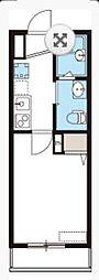 NK HOUSE[204号室]の間取り