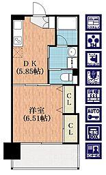 ハイツウィーン[2階]の間取り