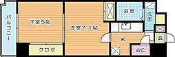 アヴィニールNo.5[5階]の間取り