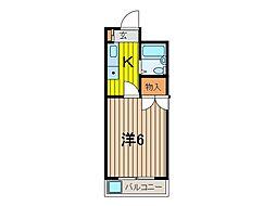 セイント浦和[1階]の間取り