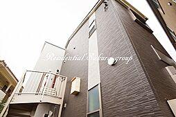 神奈川県藤沢市鵠沼の賃貸アパートの外観