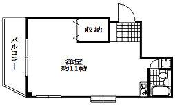 レスポワール花隈[3階]の間取り