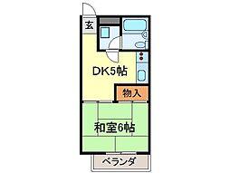 静岡県富士市吉原4丁目の賃貸マンションの間取り