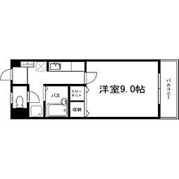 サクシード浅川[706号室]の間取り