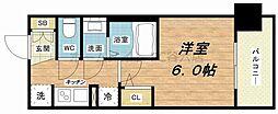 エステムプラザ福島ジェネル[5階]の間取り