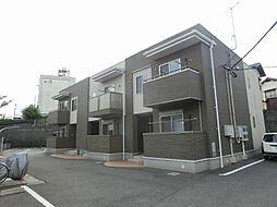 福岡県北九州市小倉南区湯川新町1丁目の賃貸アパートの外観
