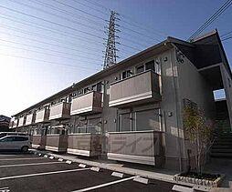京都府京都市伏見区竹田中内畑町の賃貸アパートの外観