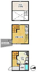 T&T[1階]の間取り