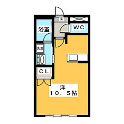 セルリアンクォーレ[2階]の間取り