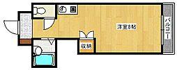 フレーヴァー深草II[2階]の間取り
