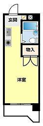 愛知県豊田市東山町2丁目の賃貸マンションの間取り