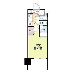 レジディア新大阪[1105号室]の間取り