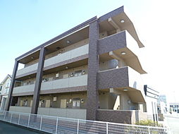 静岡県磐田市池田の賃貸マンションの外観