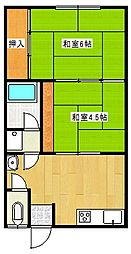 昭和ハウス[2階]の間取り