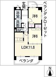 アネックス稲沢駅前[3階]の間取り