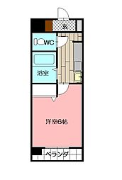 GROWTH SI清水[8階]の間取り