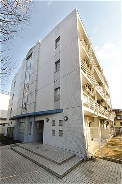 東京都小平市上水南町3の賃貸マンションの外観