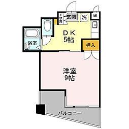プライム21[4階]の間取り