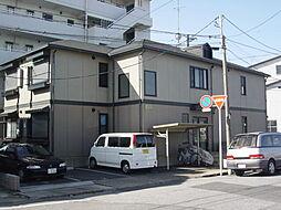 千葉県市原市白金町の賃貸アパートの外観