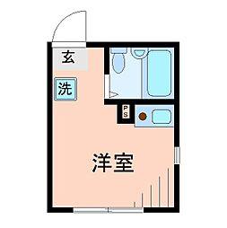 東京都北区昭和町1丁目の賃貸アパートの間取り