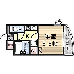 サポートプラザ[3階]の間取り