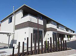 徳島県板野郡北島町鯛浜字大西の賃貸アパートの外観