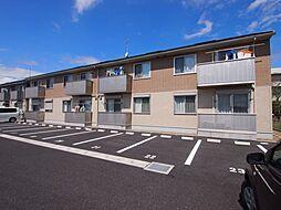 茨城県神栖市大野原中央2丁目の賃貸アパートの外観