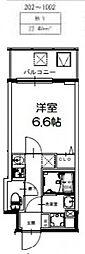 S-RESIDENCE新大阪Ridente[1002号室号室]の間取り