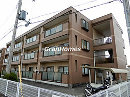 兵庫県加古川市野口町北野の賃貸マンションの外観