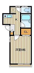 稲川邸[2階]の間取り