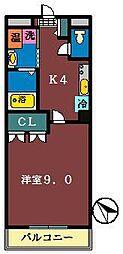 フルハウス(咲が丘)[301号室]の間取り