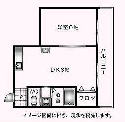 第5田宮ビル--[303号室]の間取り