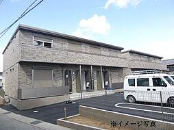 兵庫県姫路市御立中3丁目の賃貸アパートの外観