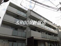 西麻布YKマンション[4階]の外観