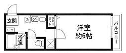 SEMIFUSA[1階]の間取り