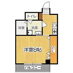 京OHBU[1階]の間取り