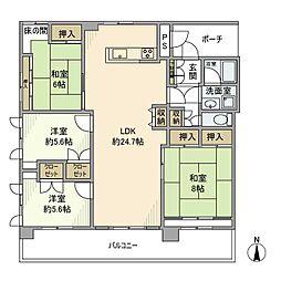 太田ビル[4階]の間取り