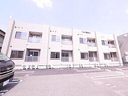 岡山県岡山市中区国富4丁目の賃貸アパートの外観