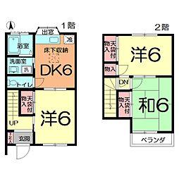 [テラスハウス] 埼玉県さいたま市北区吉野町1丁目 の賃貸【/】の間取り