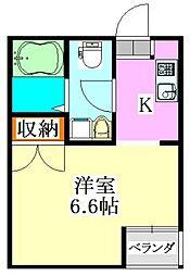 ROOM335[2階]の間取り