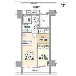 コンフォルテハイム本駒込[3階]の間取り