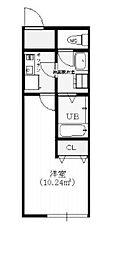 メーヴェ町田[1階]の間取り