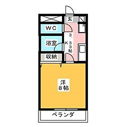 内田ハイツ[2階]の間取り